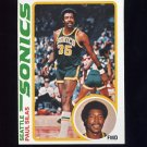 1978-79 Topps Basketball #094 Paul Silas - Seattle Sonics