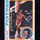 1978-79 Topps Basketball #082 M.L. Carr - Detroit Pistons