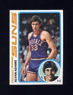 1978-79 Topps Basketball #077 Alvan Adams - Phoenix Suns