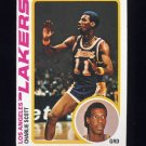 1978-79 Topps Basketball #043 Charlie Scott - Los Angeles Lakers