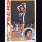 1978-79 Topps Basketball #018 Steve Mix - Philadelphia 76ers