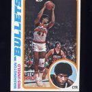 1978-79 Topps Basketball #007 Wes Unseld - Washington Bullets