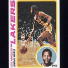 1978-79 Topps Basketball #003 Jamaal Wilkes - Los Angeles Lakers