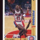 1991-92 Upper Deck Basketball #333 Isiah Thomas - Detroit Pistons