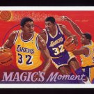 1991-92 Upper Deck Basketball #029 Magic Johnson - Los Angeles Lakers