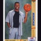 1991-92 Upper Deck Basketball #007 Greg Anthony RC - New York Knicks