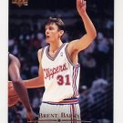 1995-96 Upper Deck Basketball #309 Brent Barry RC - Los Angeles Clippers