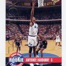 1993-94 Upper Deck Rookie Exchange Gold #RE3 Anfernee Hardaway - Orlando Magic