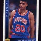 1993-94 Upper Deck Basketball #405 Allan Houston RC - Detroit Pistons