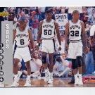 1993-94 Upper Deck Basketball #233 David Robinson / San Antonio Spurs Schedule