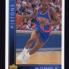 1993-94 Upper Deck Basketball #042 Joe Dumars - Detroit Pistons