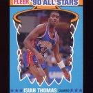 1990-91 Fleer All-Stars Basketball #06 Isiah Thomas - Detroit Pistons