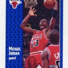 1991-92 Fleer Basketball #029 Michael Jordan -Chicago Bulls