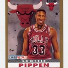 1992-93 Fleer Basketball #254 Scottie Pippen - Chicago Bulls