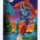 1994-95 Fleer Basketball Pro-Visions #1 Jamal Mashburn - Dallas Mavericks
