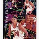 1994-95 Fleer Basketball Triple Threats #8 Scottie Pippen - Chicago Bulls