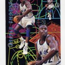 1994-95 Fleer Basketball Triple Threats #7 Shaquille O'Neal - Orlando Magic