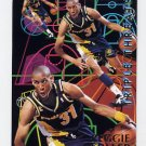 1994-95 Fleer Basketball Triple Threats #5 Reggie Miller - Indiana Pacers