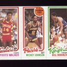 1980-81 Topps Basketball #013 Foots Walker / Mickey Johnson / Bill Robinzine