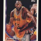 1993-94 Topps Basketball #088 James Worthy - Los Angeles Lakers