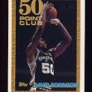 1993-94 Topps Basketball #052 David Robinson - San Antonio Spurs