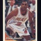 1993-94 Topps Basketball #010 Steve Smith - Miami Heat