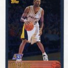 1996-97 Topps Basketball NBA at 50 #120 Jalen Rose - Indiana Pacers