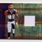 2008 Playoff Absolute Memorabilia War Room Materials #WR19 Jerome Simpson - Bengals Game-Used /50
