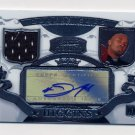 2007 Bowman Sterling Football #JLH2 Johnnie Lee Higgins RC - Raiders Game-Used Jersey / AUTO