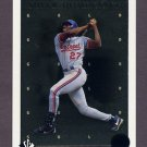 1998 SP Authentic Sheer Dominance Gold #SD16 Vladimir Guerrero - Montreal Expos 1492/2000