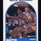 1989-90 Hoops Basketball #145 Buck Williams SP - New Jersey Nets