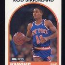 1989-90 Hoops Basketball #008 Rod Strickland RC - New York Knicks