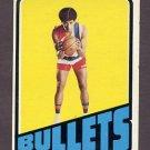 1972-73 Topps Basketball #021 Wes Unseld - Washington Bullets