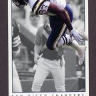 1992 GameDay Football #316 Ronnie Harmon - San Diego Chargers