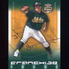 2003 Fleer Focus JE Franchise Focus #14 Barry Zito - Oakland Athletics