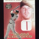 2003 Fleer Focus JE Team Colors Game Jersey #TC-AD Adam Dunn - Cincinnati Reds Game-Used Jersey