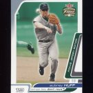 2003 Fleer Focus JE Baseball #120 Aubrey Huff - Tampa Bay Devil Rays