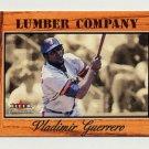2003 Fleer Tradition Lumber Company #20 Vladimir Guerrero - Montreal Expos