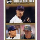 2003 Upper Deck Vintage Baseball #233 Randy Johnson / Curt Schilling / Barry Zito