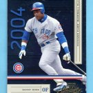 2004 Absolute Memorabilia Retail Baseball #043 Sammy Sosa - Chicago Cubs