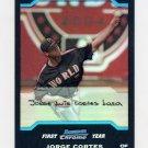 2004 Bowman Chrome Draft Refractors #142 Jorge Cortes - Pittsburgh Pirates