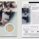 2004 Bowman Sterling Refractors #AD Adam Dunn - Cincinnati Reds Game-Used Bat