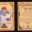 2004 Diamond Kings DK Materials Bronze #064 Austin Kearns - Reds Game-Used Jersey, Bat /150