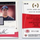 2004 Flair Cuts and Glory 100 #AK Austin Kearns - Reds Game-Used Jersey AUTO