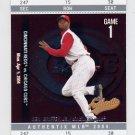 2004 Fleer Authentix Baseball #029 Ken Griffey Jr. - Cincinnati Reds