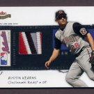 2004 Fleer Patchworks Licensed Apparel Team Name #AK Austin Kearns - Reds Game-Used Patch / 150