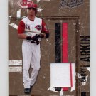 2004 Leather and Lumber Materials Jersey #041 Barry Larkin - Reds Game-Used Jersey /250