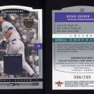 2004 SkyBox LE Jersey Proof #030 Richie Sexson - Game-Used Jersey /299