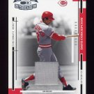 2004 Throwback Threads Material #212 Dave Concepcion - Reds Game-Used Jersey /100