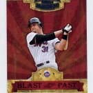 2004 Throwback Threads Blast From The Past #BP-18 Mike Piazza New York Mets /1500